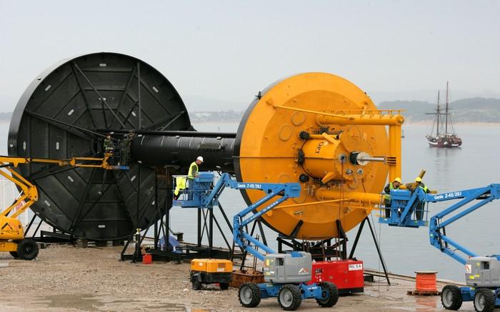 Проект самой масштабной волновой электростанции