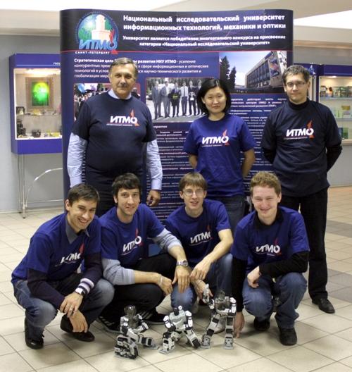 Российские роботы получили олимпийское золото в Китае