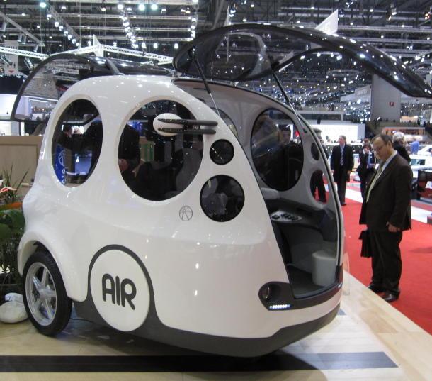 AirPod - автомобиль с двигателем на сжатом воздухе