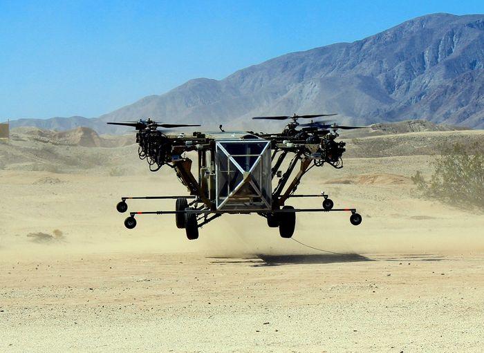 AT Black Knight Transformer - автомобиль-мультикоптер | Новости технологий