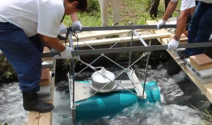Cappa - мини-гидроэлектростанция для небольших ручьев