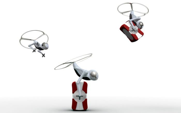 Cargonaut – летающий робот, перевозчик грузов | Новости ...