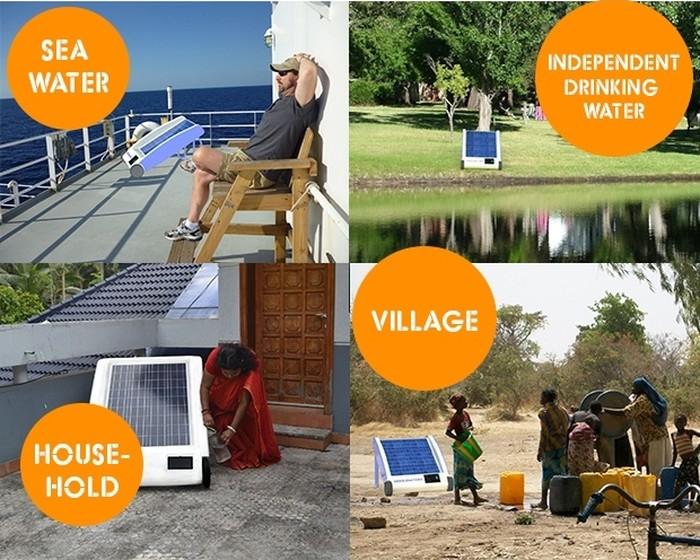 Опреснитель воды на солнечных батареях   Новости технологий