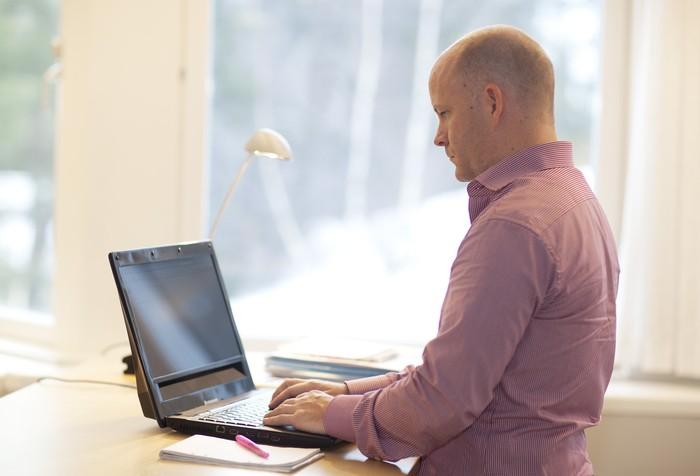 Ноутбук, управляемый взглядом