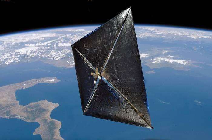 Солнечный парус NanoSail-D