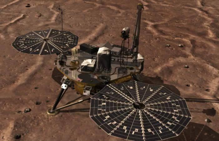 Phoenix's Robotic на поверхности Марса