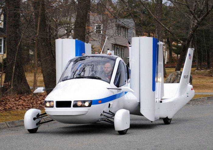 Terrafugia Transition — летающий автомобиль