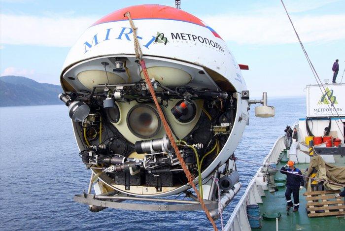 Глубоководный обитаемый аппарат «Мир‑1»