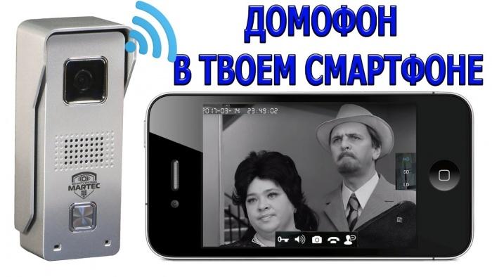 вызывные панели с телефона