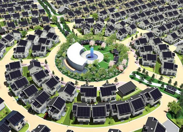 Fujisawa Sustainable Smart Town - умный город от компании Panasonic