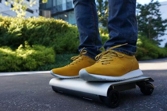 WalkCar - транспортное средство размером с ноутбук
