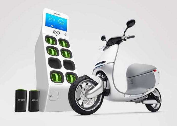 Электрические скутеры Gogoro Smartscooter на дорогах Тайваня