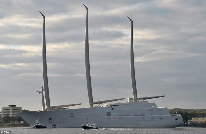 """""""Белая жемчужина"""" - самая большая в мире парусная яхта"""