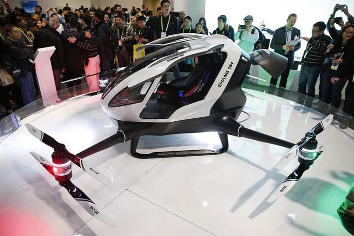Ehang 184 - концепт пассажирского дрона
