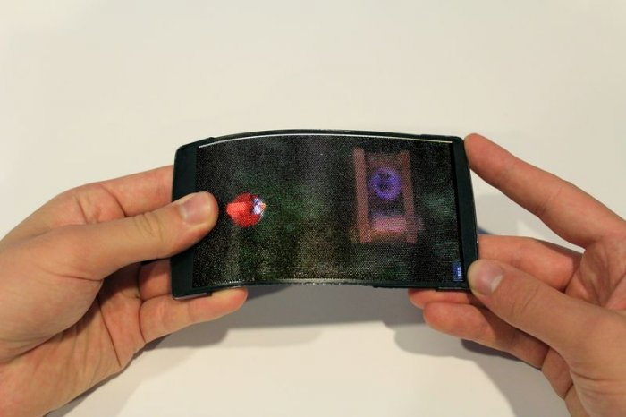 HoloFlex - гибкий смартфон с 3D-экраном