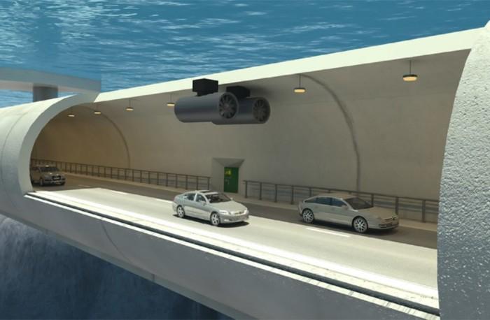 Подводные плавающие тоннели
