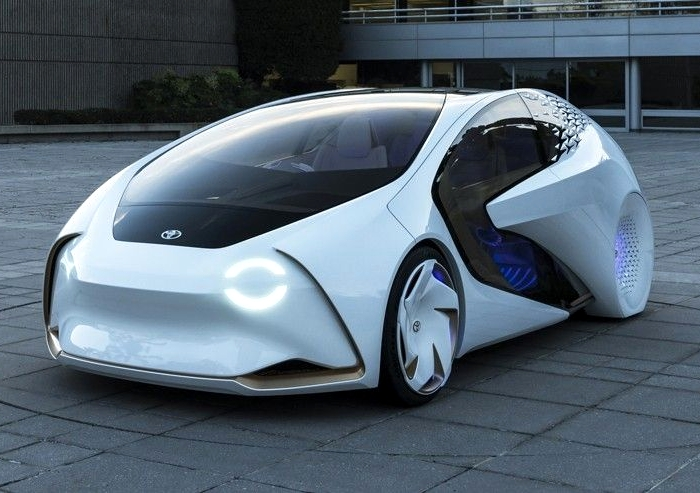 Toyota Concept-i - концепт-кар с системой искусственного интеллекта