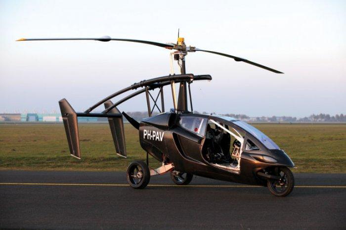 PAL-V Liberty - первый серийный летающий автомобиль