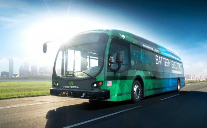 Proterra Catalyst E2 Max - электрический автобус с максимальным ходом на одном заряде