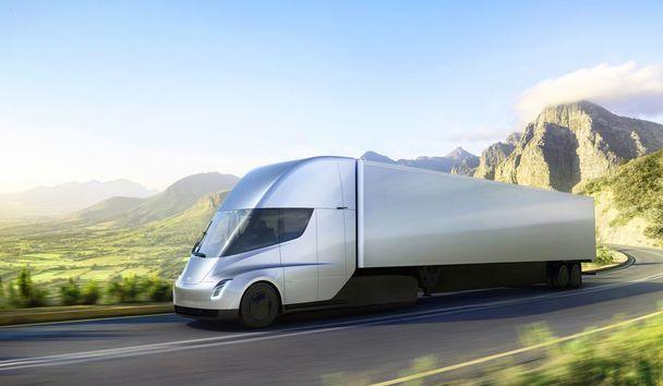 Tesla Semi Truck –  электрический грузовик с автопилотом