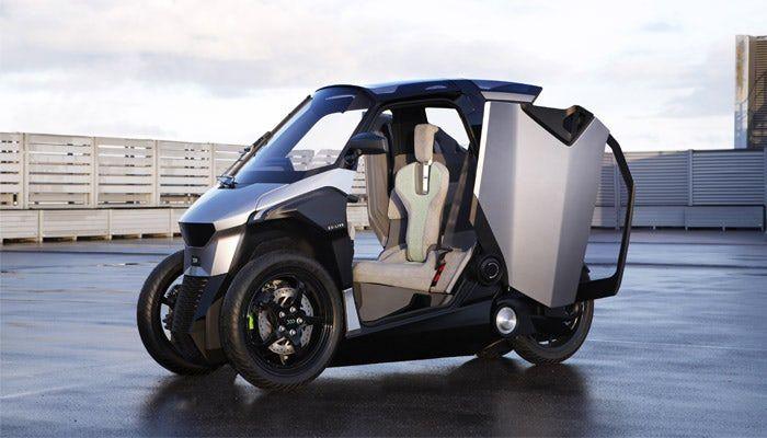 Трёхколёсный скутер Peugeot – транспорт мегаполиса будущего