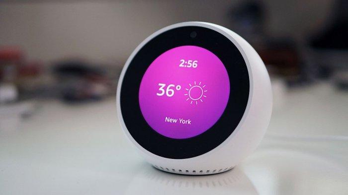 Умный будильник Amazon Echo  Spot