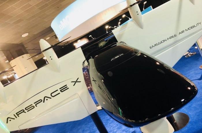 AirSpaceX Mobi-One – такси-беспилотник в воздухе
