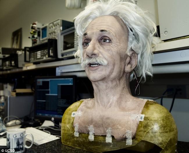 Картинки по запросу робот эйнштейн
