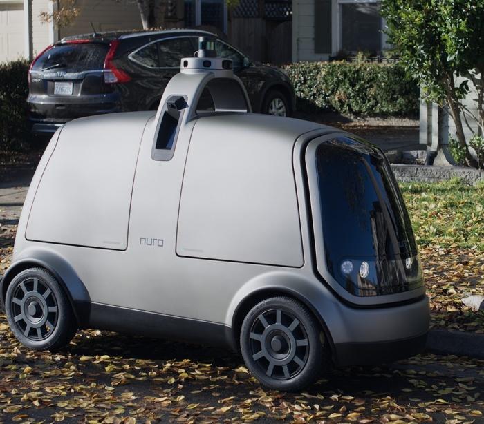Беспилотный робомобиль Nuro R1 займется доставкой грузов