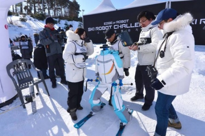 Ski Robot Challenge - первое соревнование роботов-горнолыжников