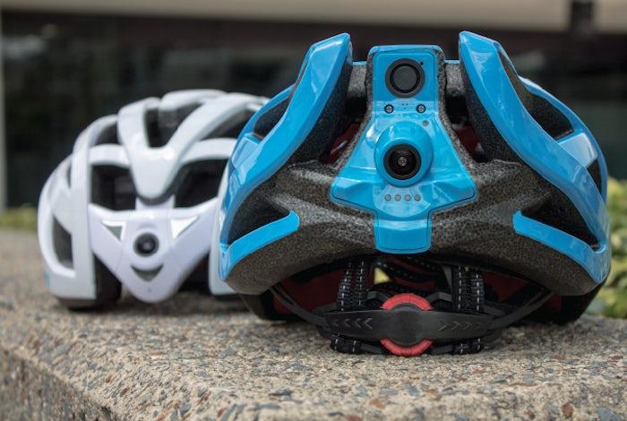Шлем с двойной камерой Edge Cyclevision