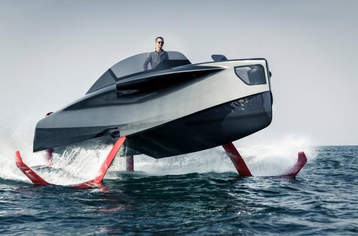 Foiler – яхта, способная плыть и лететь!