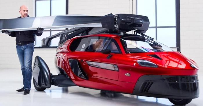 Открыт предзаказ на летающие автомобили PAL-V