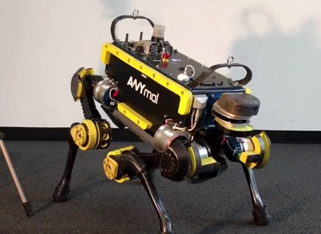 ANYmal - робот, танцующий под музыку