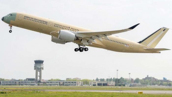 Airbus A350-900ULR - пассажирский авиалайнер с ультрабольшой дальностью полета