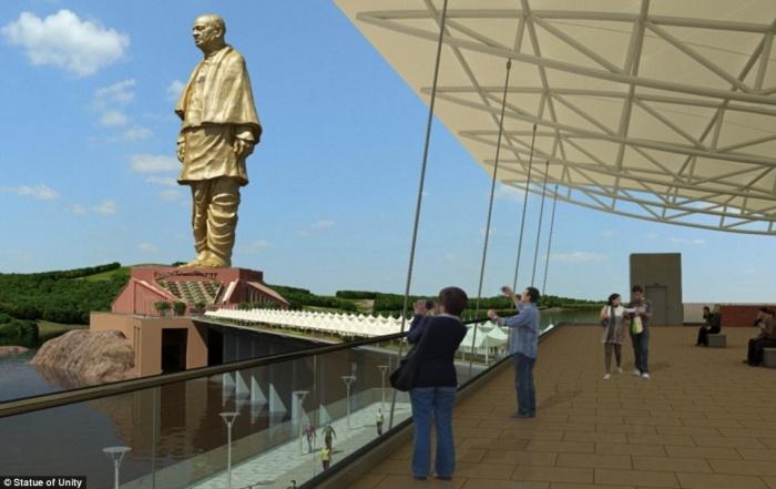 В Индии построили самую высокую статую в мире