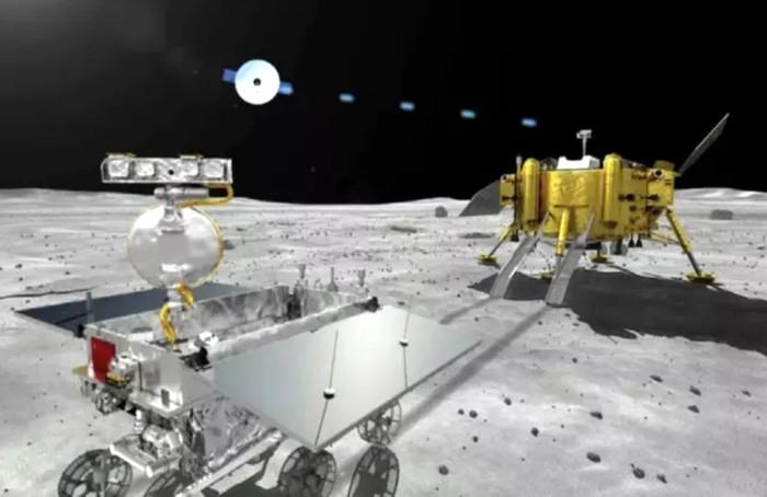"""Китайский зонд """"Чанъэ-4"""" успешно сел на обратной стороне Луны"""
