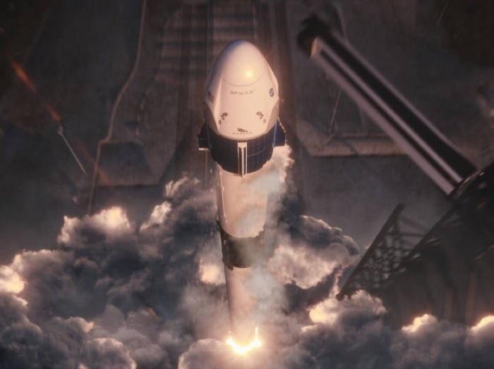 SpaceX приступает к доставке астронавтов на МКС на новейшем корабле Dragon-2