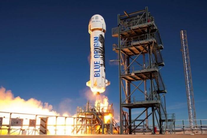 Компания Blue Origin успешно осуществила запуск ракеты New Shepard