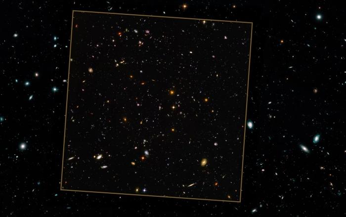 NASA опубликовала фотографию «Поле наследия Хаббла»