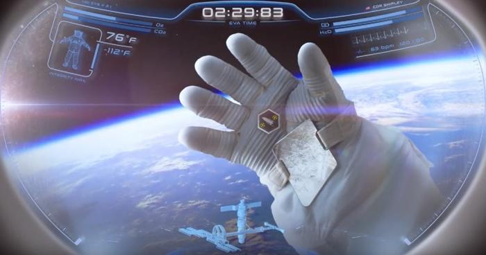 В США создали шлем с проекционным дисплеем для космонавтов