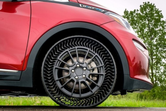 Michelin и GM обещают выпустить безвоздушные шины UPTIS