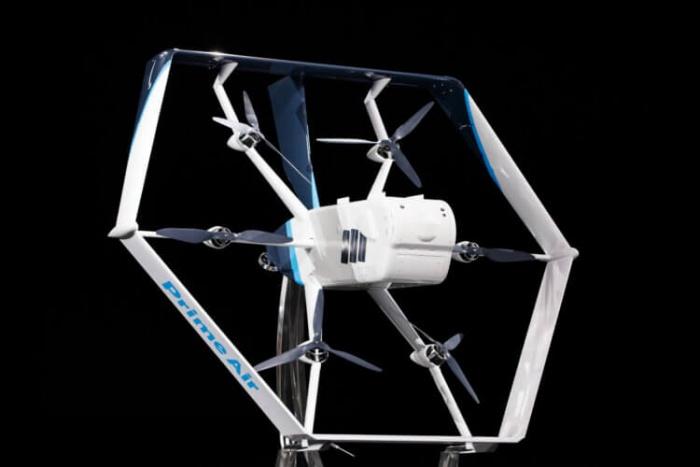 Новый беспилотный дрон-почтальон от компании Amazon