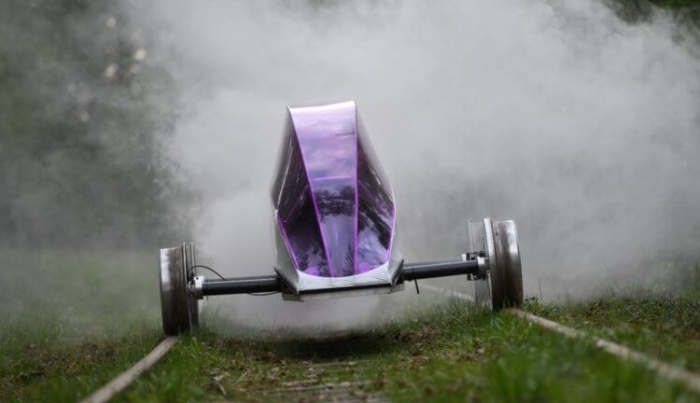 Самый экономичный автомобиль на конкурсе Delsbo Electric