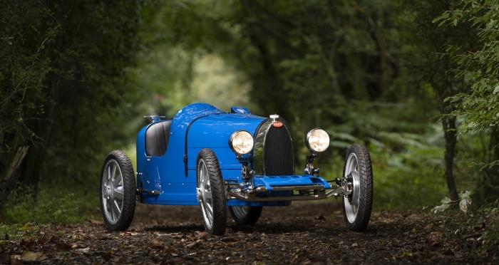 Bugatti выпустила лимитированную серию детских автомобилей Baby II