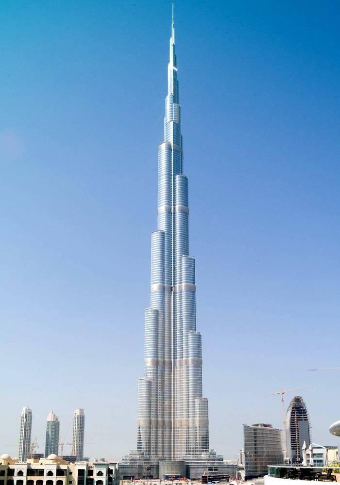 Бурдж-Халифа - самые высокие небоскребы мира
