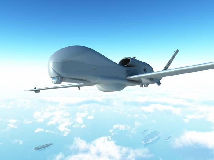 Разведывательный беспилотный летательный аппарат RQ-4 Global Hawk