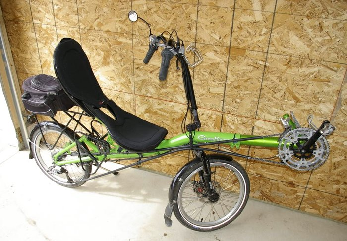 Grasshopper - складной велосипед