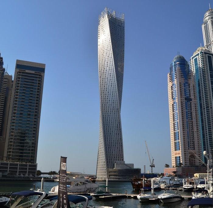 Башня Кайан - самое высокое перекрученное здание