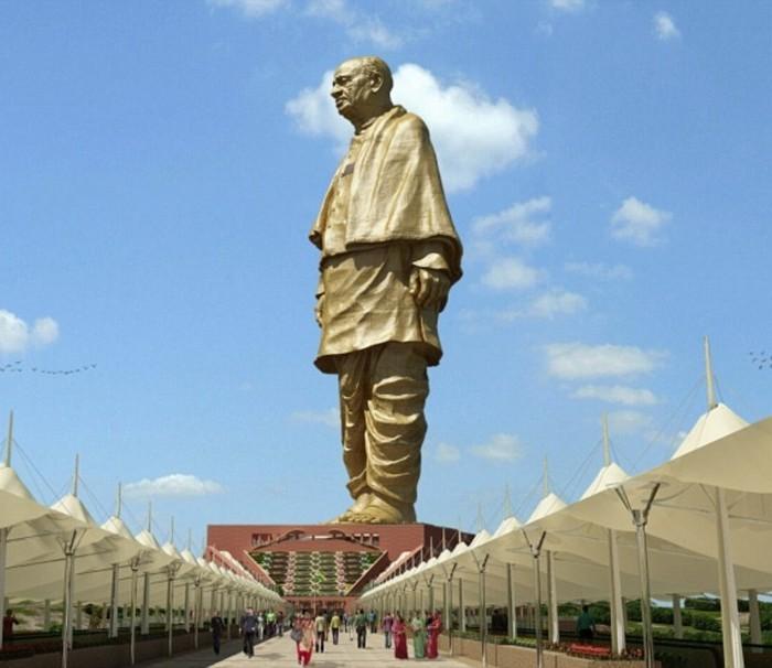 Статуя Единства - самая высокая статуя в мире